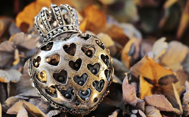 Heart, Crown, Herzchen, Structure, Pattern, Love
