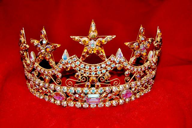Crown, Princess, Beauty Pageant, Rhinestones, Sparkly
