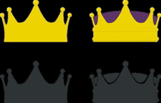 Crown, King, Queen, Crowns