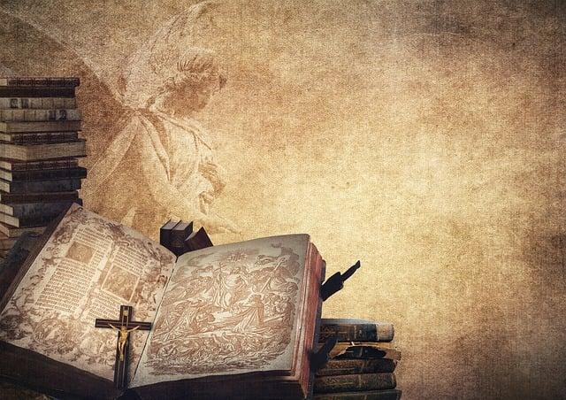 Book, Angel, Bible, Book Stack, Cross, Crucifix, Church