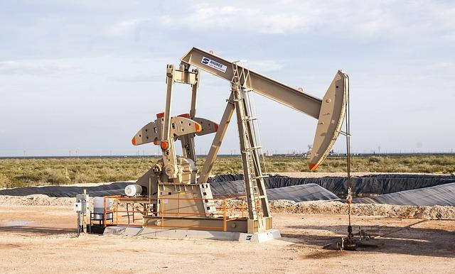 Oilfield, Pump, Crude, Petroleum