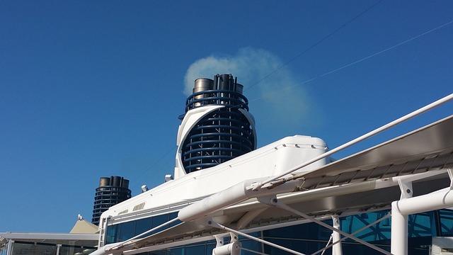 Cruise, Travel, Ship, Cruise Ship, Blue, White, Luxury