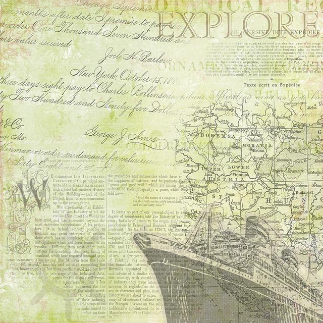 Cruise, Bon Voyage, Green, Map, Explorer, Travel