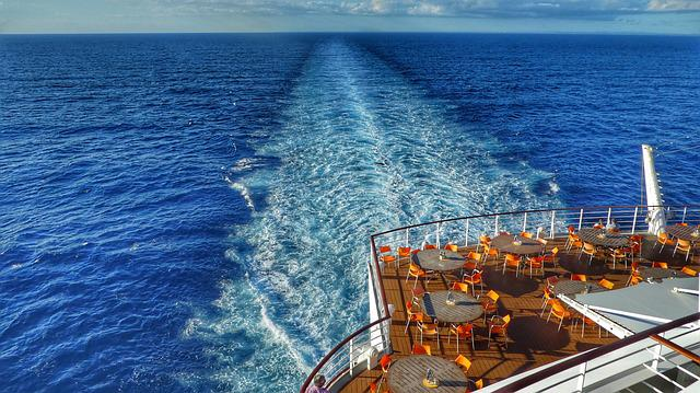 Caribbean, Ship, Driving Cruise Ship, Water, Cruise