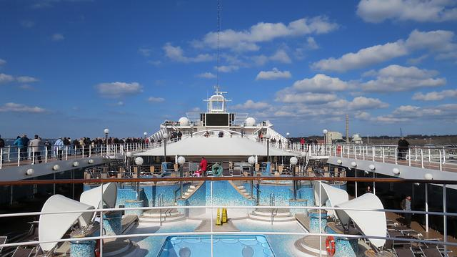 Cruise, Ship, Cuxhaven, Cruise Ship