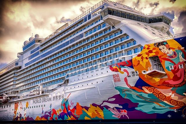 Ship, Cruise, Cruise Ship, Holiday, Mass Tourism