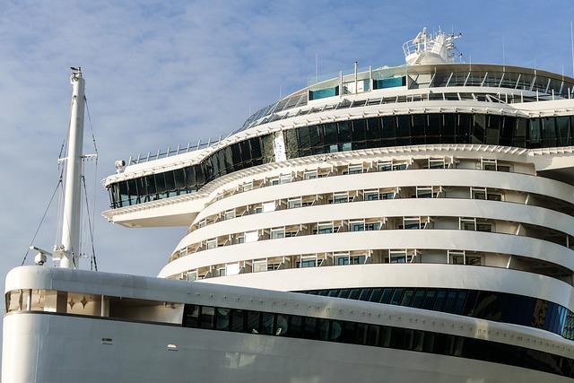 Cruise Ship, Bridge, Cruise, Sea, Aida Prima, Aida