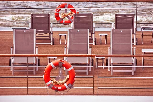 Deck, Ship Deck, Ship, Cruise, Water, Cruise Ship