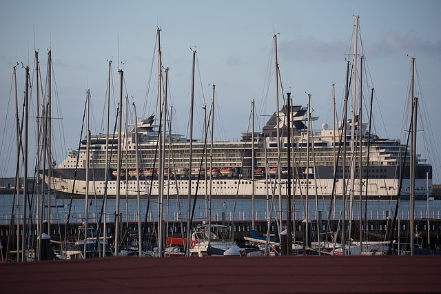 Bilbao, Port, Ship, Cruise, Cruise Ship, Water