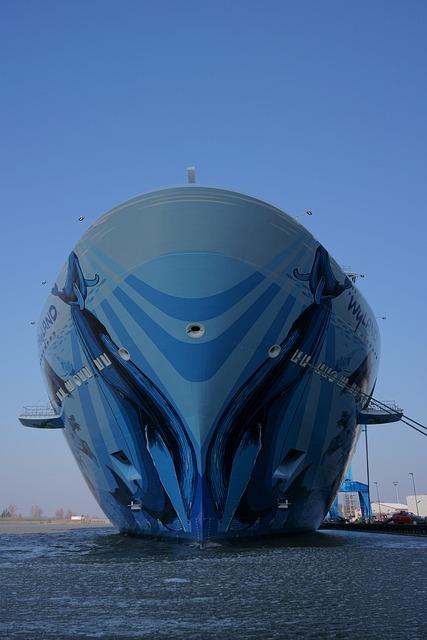 Travel, Waters, Sea, Ship, Cruise Ship