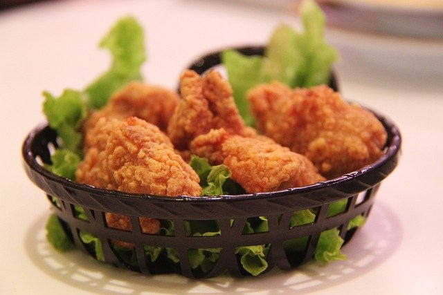 Fried Chicken, Chicken, Fried, Crunchy, Poultry, Meat
