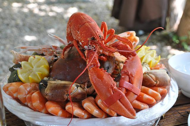 Seafood Platter, Crustaceans, Food, Seafood, Kitchen