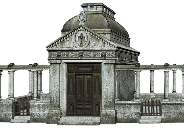 Cemetery, Crypt, Sepulchre, Tomb, Composing
