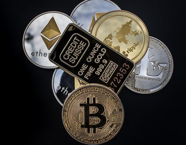 Cryptocurrency, Coin, Blockchain, Money, Bitcoin