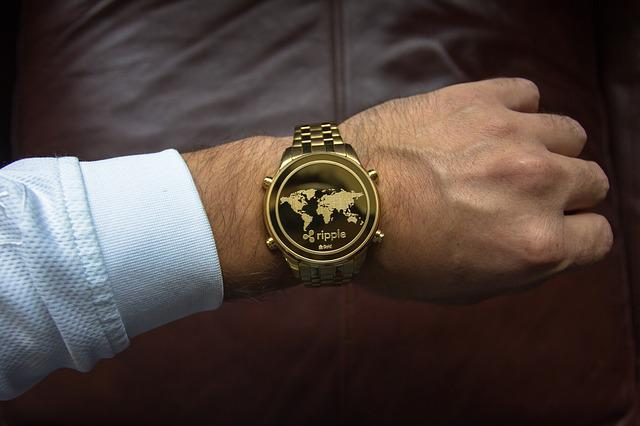 Cryptocurrency, Time Concept, Ripple, Coin