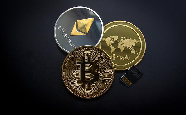 Cryptocurrency, Business, Finance, Money, Wealth, Gold