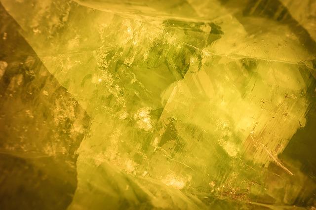 Calcite, Gem, Crystal, Stone, Shine, Light, Rays