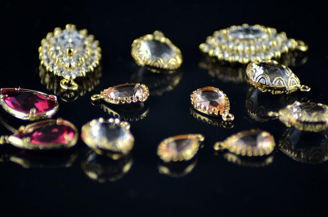 Gold, Crystal, Jewelry, The Jeweler, Gemstones, Golden
