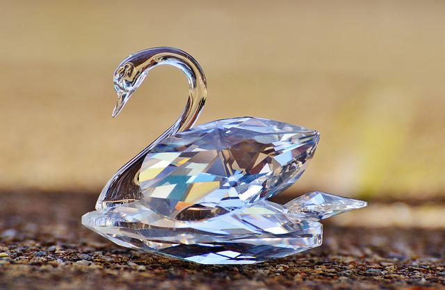 Swarovski, Swan, Crystal, Noble, Beautiful, Shine