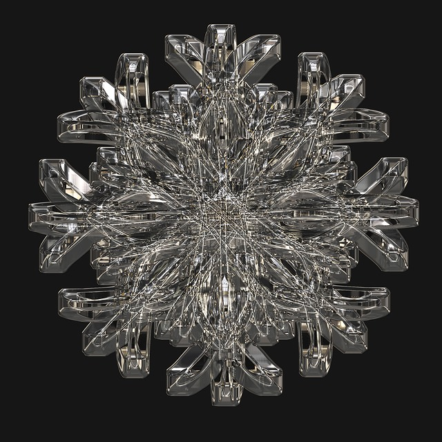 Ice Crystal, Snowflake, Cold, Frost, Crystals, Winter