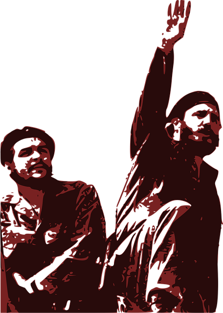Armed Forces Day, Che Guevara And Fidel Castro, Cuba