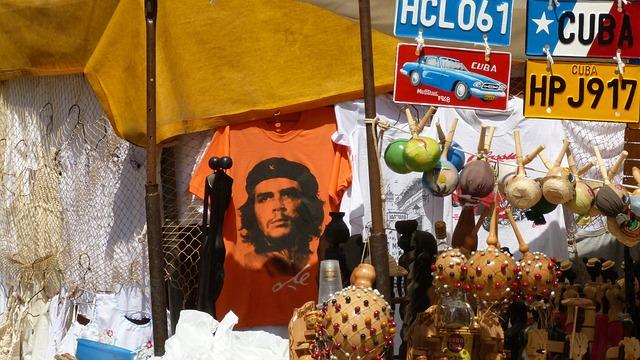 Cuba, Market, Memory, Colorful, Che Guevara