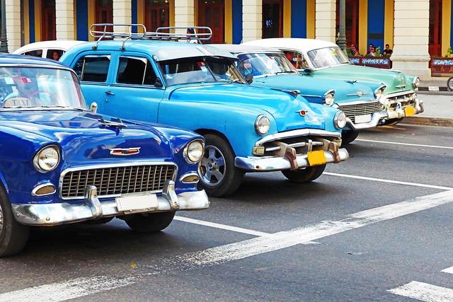 Havannah, Cuba, Oldtimer, Auto, Vehicle