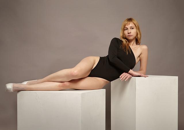 Model, Girl, Woman, Beautiful Girl, Legs, Cube, Studio