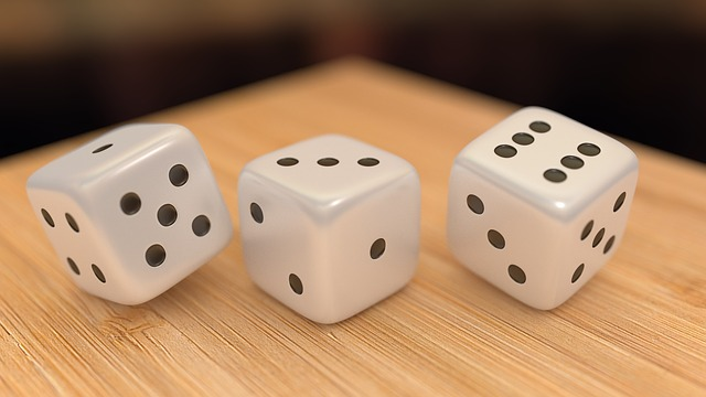 Dices, 3d, Render, Game, Cube, Blur, Soft, Dice