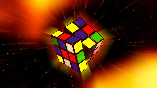 Galaxy, Magic Cube, Cube, Puzzle, Play, Concentration