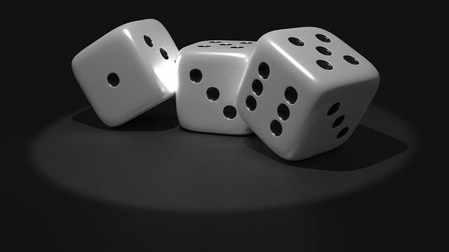 Cube, Random, Luck, Eye Numbers, Points, Gambling