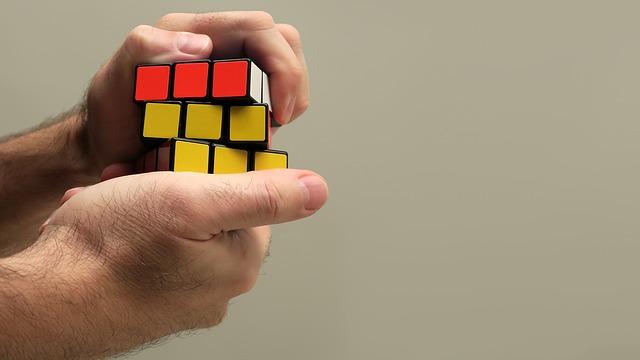 Hand, Rubik, Cube, Puzzle, Game, Rubik Cube