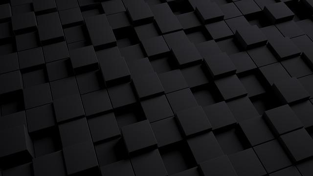 Model, 3d, Background, Cube, Dark, Texture, Pattern