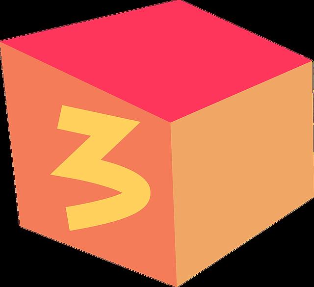 Cube, Box, Three
