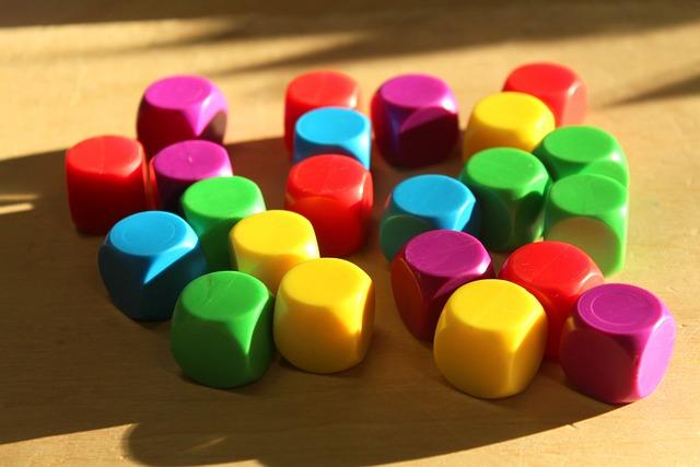 Cubes, Colorful, Fun, Toys, Children, Education