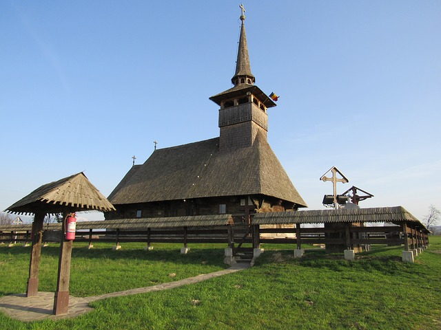 Wooden Church, Cucuceni, Transylvania, Crisana, Romania