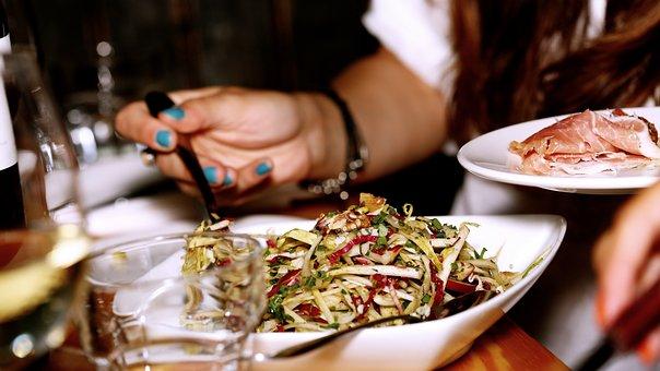 Salad, Restaurant, Meal, Dinner, Cuisine, Bacon, Lunch