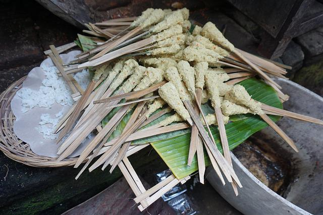 Satay, Bali, Balinese, Food, Asian, Cuisine, Indonesian