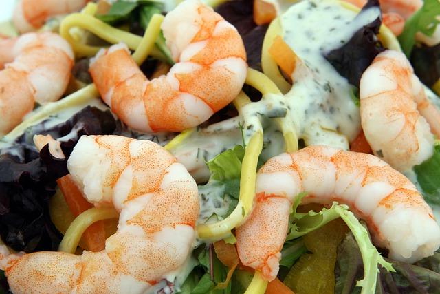 Prawn, Seafood, Shrimps, Asian, Culinary, Food