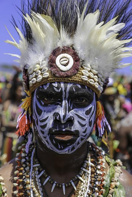 Culture, Face Paint, Cultural, Handsome, Warrior