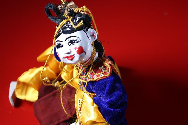 Puppet, Traditional, Myanmar, Burma, Burmese, Culture