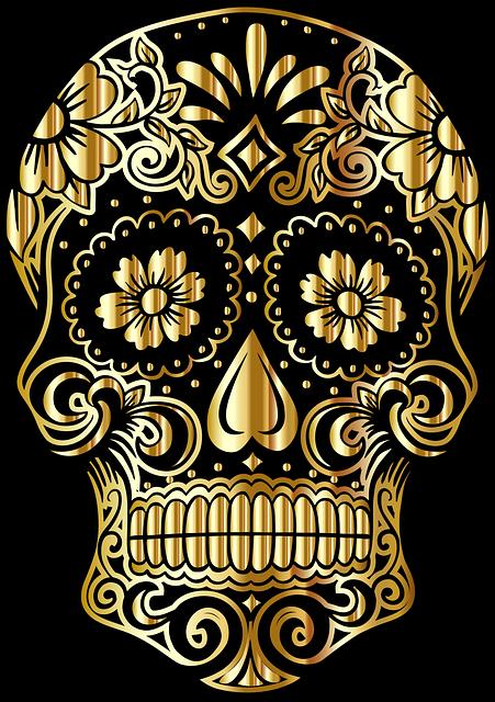 Sugar Skull, Mexico, Day Of The Dead, Culture, Belief