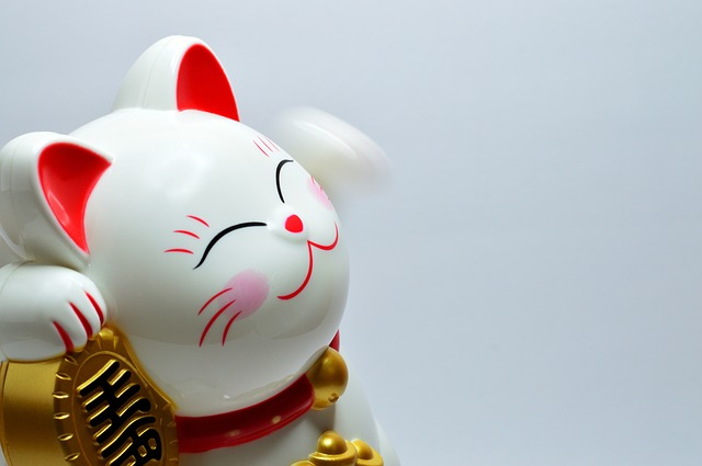 Good Luck, Lucky, Fortune, Culture, Cat, Traditional