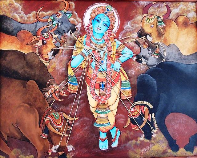 Painting, Art, Mural, Canvas, Culture, Mythology