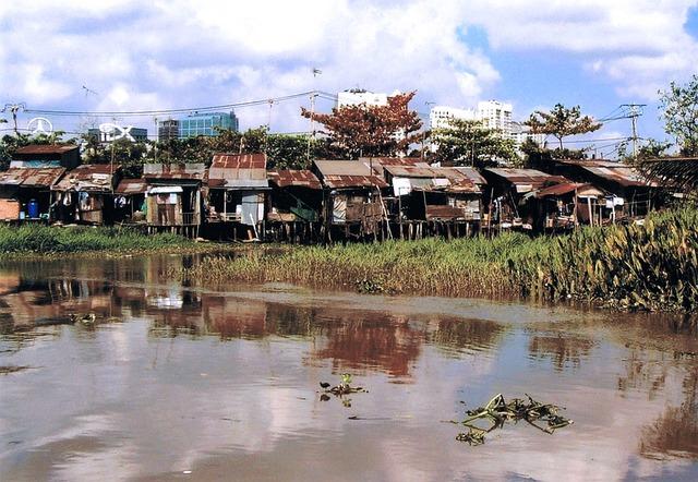 Saigon, Slums, Asia, Vietnam, Poor, Culture