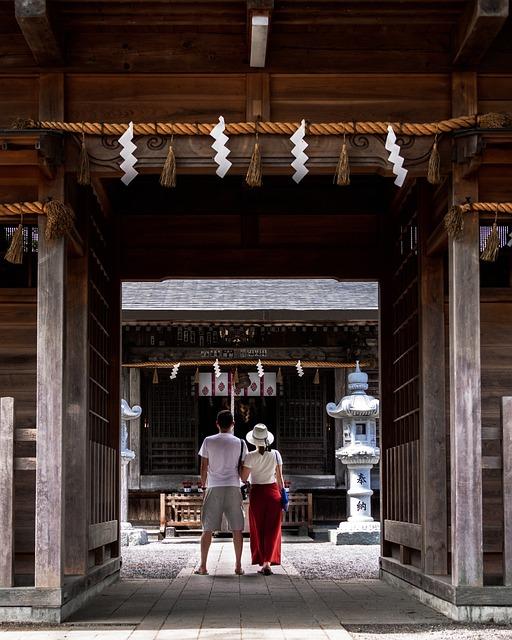 Shrine, Japan, Temple, Asia, Travel, Culture, Tourist