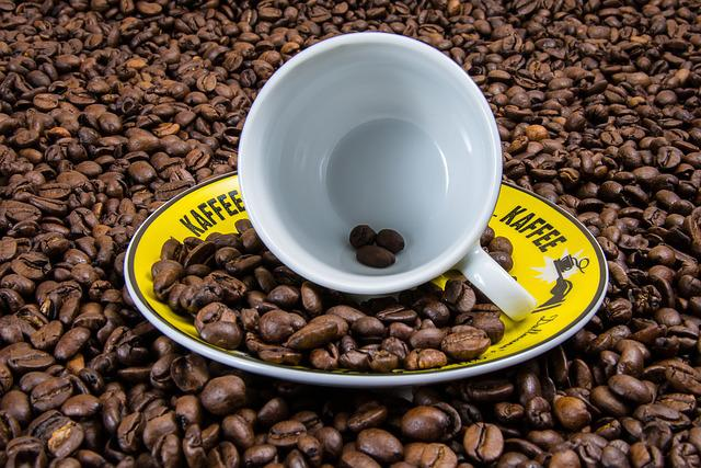 Coffee, Coffee Cup, Coffee Beans, Cup, Cover, Brown