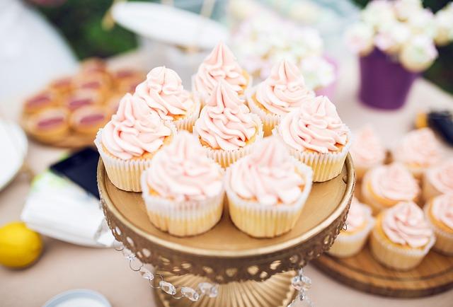 Dessert, Cup Cake, Dessert Station
