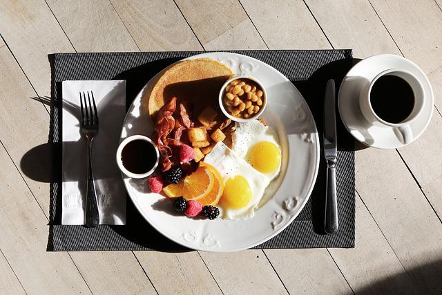Blackberries, Breakfast, Caffeine, Coffee, Cup, Dish