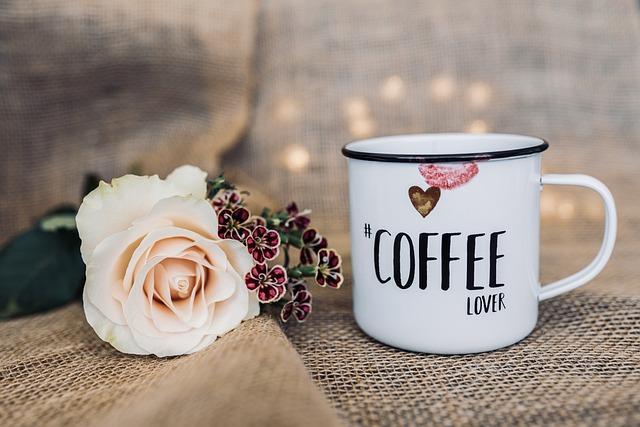 Coffee, Flowers, Cup, Drink